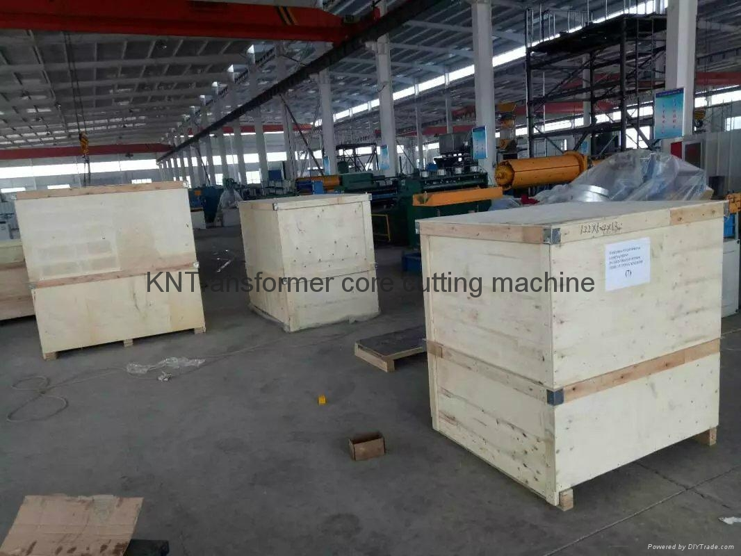 Export transformer core cutting machine