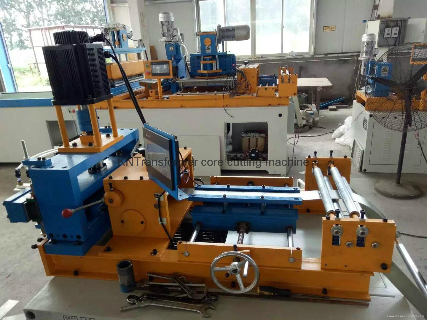 u bend core cutting machine