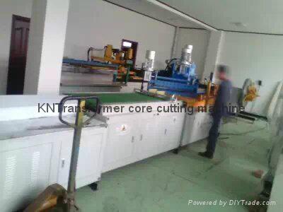 transformer core cutting machine