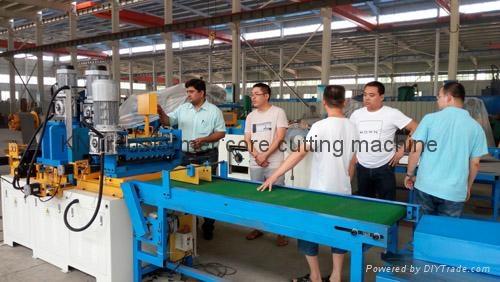 Client buy core cutting machine