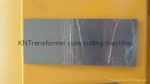 Transformer Straight core cutting machine 20