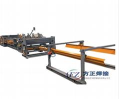 High Quality Welded Diamond Wire Mesh Machine