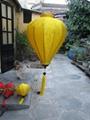 bamboo lantern - outdoor silk lantern 2