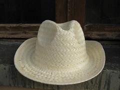COWBOY HAT - STRAW PALM HAT