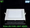 6W LED Panel Light with 3 colors changing down lighters 2