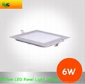 6W LED Panel Light with 3 colors changing down lighters 1