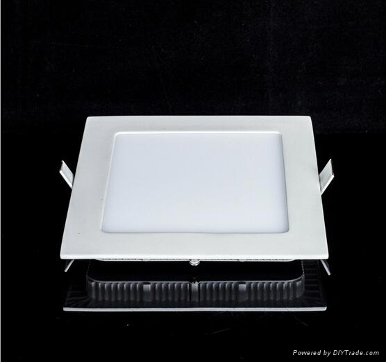 6W LED Panel Light with 3 colors changing down lighters 4