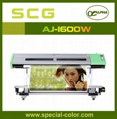 Digital Eco Solvent Printer Use Double Epson Head