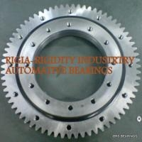 Four point contact slewing ring bearing stainless steel VU140179