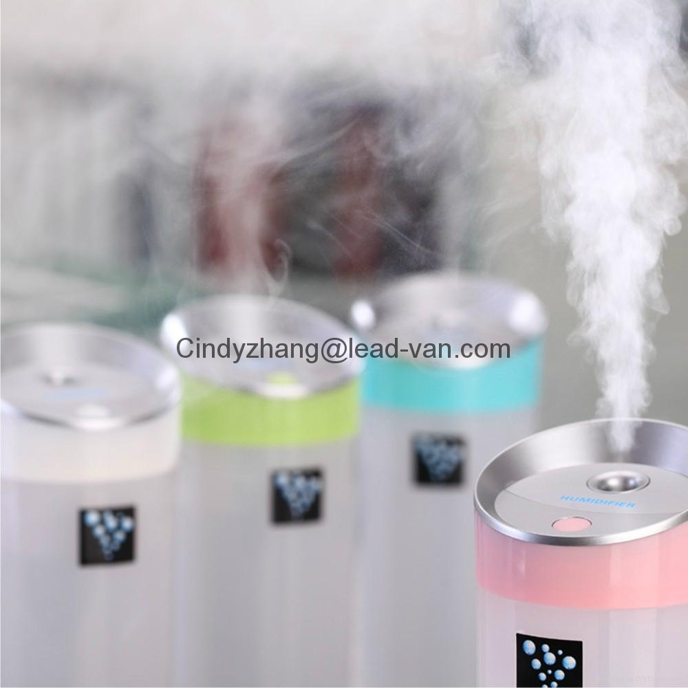 Small O Aromatherapy Humidifier Anionic Moisture Meter For Office Car 2