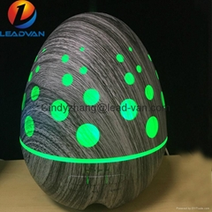 New Hot Sale Egg Design Wooden Aromatherapy Essential Oil Diffuser