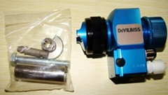 DEVILBISS T-AGPV auto LVMP detachable plate spray gun 0.7/1.1/1.4/1.6mm JAPAN