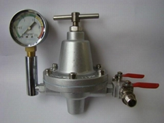 Fluid Pressure Maintaining Valve,Regulator,SMALL FLOW, can link w/ 1 spray gun
