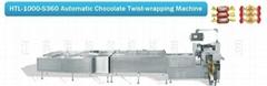 Automatic Chocolate Twist-wrapping Machine