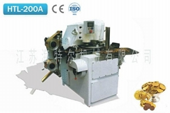 Covering & Knur ling Machine for coin Chocolate