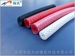 玻纖編織硅膠管