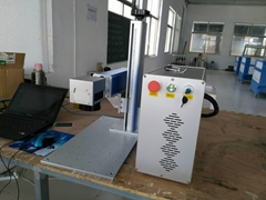 See larger image      wrist watch logo marking Fiber laser marking machine