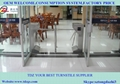 Security automatic tripod turnstile with door access control system 3
