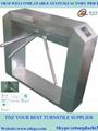 Bridge automatic tripod turnstile for