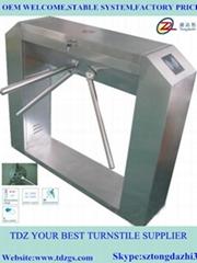 Bridge automatic tripod turnstile for ESD test