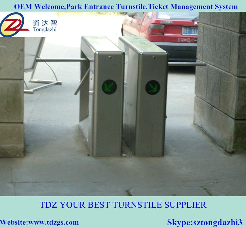 Semi-automatic tripod turnstile for ticket management sys 2