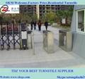 Smart tripod turnstile for enterprise entrance 2