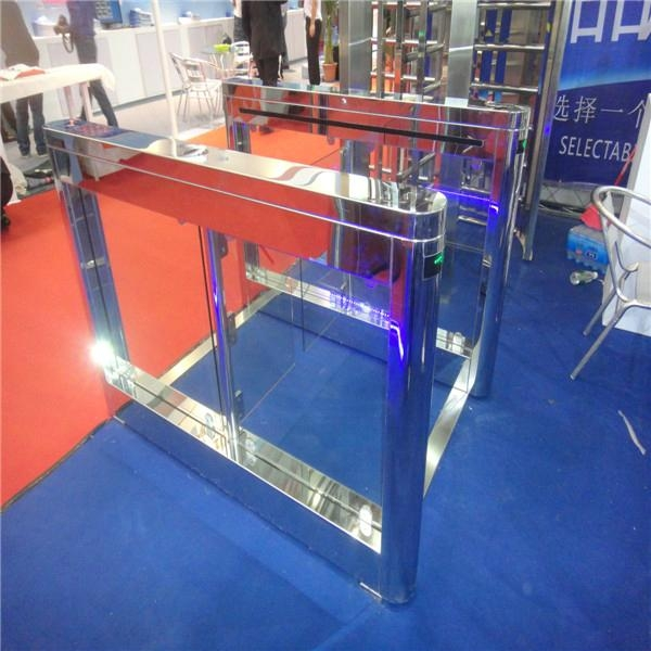Special design access control turnstile for CPSE exhibition 3