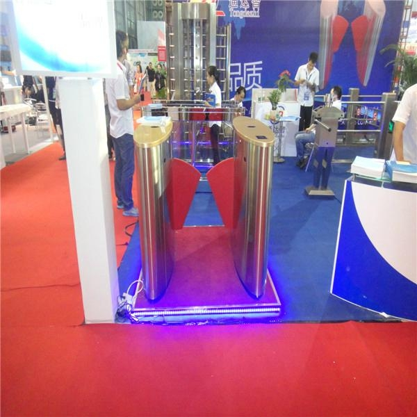 Special design access control turnstile for CPSE exhibition 5
