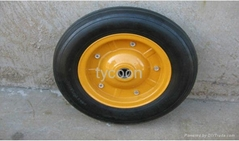 environment-friendly pneumatic rubber wheel3.50-7 with PAHs standard