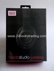 New Beats Studio Wireless 2.0 Headphone Beats By Dre Wireless Studio 2014 Black