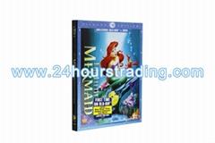 The Little Mermaid Diamond Edition Cartoon DVD Blu-Ray DVD