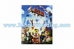 The Lego Movie (2014) Cartoon DVD Blu-Ray DVD