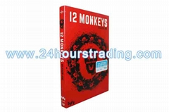 12 Monkeys Seaon One 1 DVD 3Dis  Movies US Version DVD The TV Show DVD