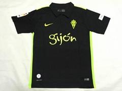2016 2017 Sporting Gijon Club Football Jersey Short Sleeve Top AAA Quality