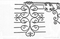 Wrought iron welding accessories for fence&gates 2