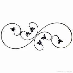 Wrought iron welding accessories for fence&gates