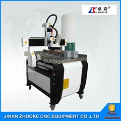 Small CNC Router 6090 4 Axis CNC Engraver 600*900mm With 200mm Z Axis Mach3 4 Ax