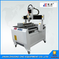 Small CNC Milling Machine CNC Router 6090 With 4 Axis Mach3 Control System 600*9