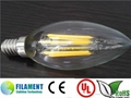 Dimmable no flicking 2W 4W 6W 8W C35 A60 St64 edison filament led bulb 3