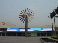 P16 Outdoor LED display Baiyun airport