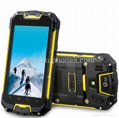 best quality IP67 waterproof with walkie talkie quad core MTK6589 android phone