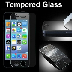 Premium Tempered Glass Screen Protector Protective Film 2.5D for iPhone 5 5S 5C