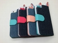 New Model Jean Phone Case for iPhone 5 Real Flip Leather Case with Factory Price 4