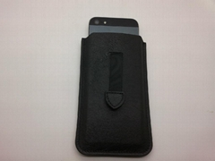 Real Leather Flip Case for iPhone 4 and iPhone 5 Cheap Price