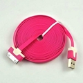New Arrival 3M Colorful 30pin Noodle USB