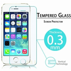 Premium Tempered Glass Screen Protector for iPhone5 5S 5C Protective Film