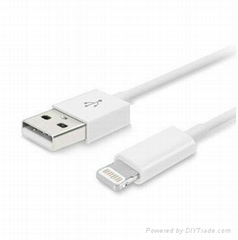 8 Pin to USB Cable Charging Sync Cord for iPhone 5 iPod iTouch Nano 7th Gen New