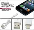 8 Pin to USB Cable Charging Sync Cord for iPhone 5 iPod iTouch Nano 7th Gen New 5