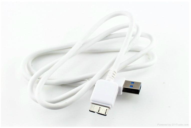 Wholesale - Micro USB Cable 1M 3.0 USB Charger Sync for Galaxy Note 3 S5 I9600 2