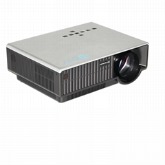 Barcomax LED projector HD 1080p with AV VGA HDMI USB SD card(media player) Input